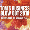 Tom business blow out 2018