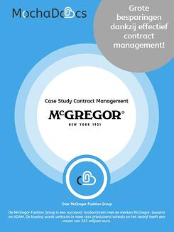 Case Study MochaDocs Contract Management door McGregor