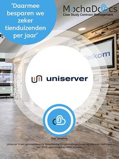 Case Study MochaDocs Contract Management door Uniserver