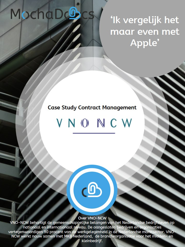 Case Study MochaDocs Contract Management door VNO-NCW