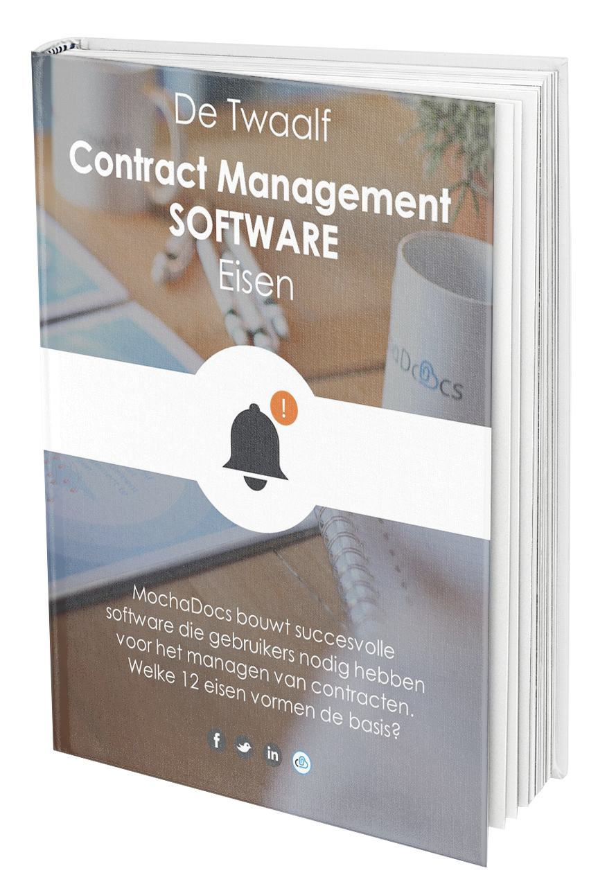 Wat zijn de 12 Contract Management Software eisen?