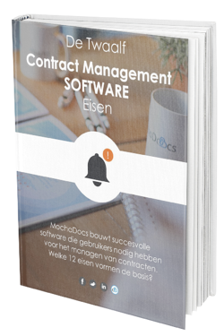 De 12 Contract Management Eisen
