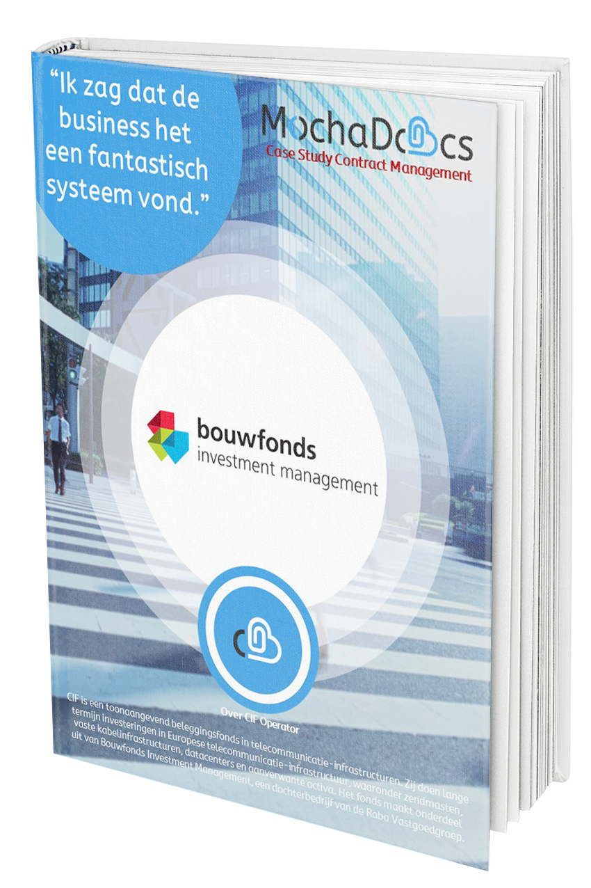 Case Study Contract Management: Bouwfonds Investments