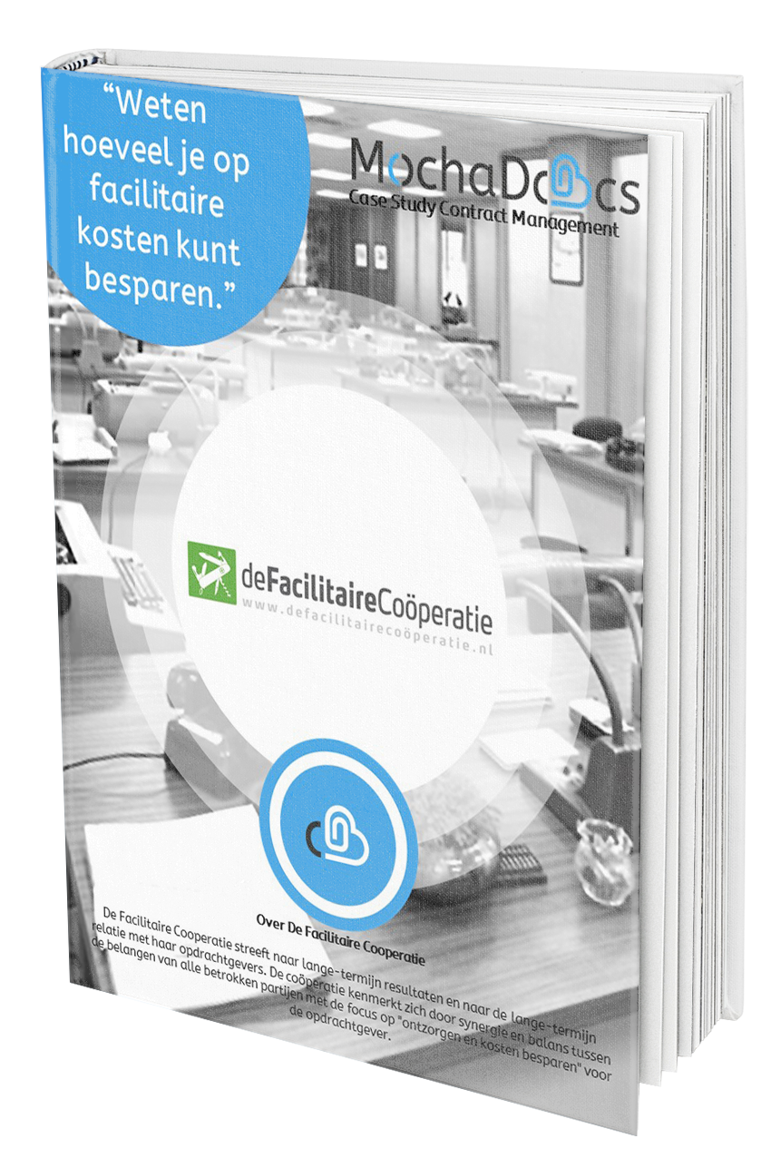 Case Study Contract Management: De Facilitaire Coöperatie