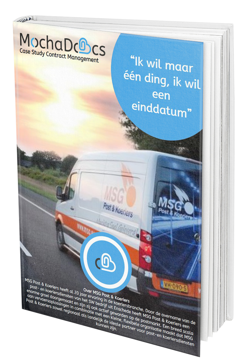 Case Study Contract Management: Eerst de einddatum, dan de rest